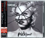 REBEL HEART - JAPAN (DELUXE EDITION) CD ALBUM + Bonus Track